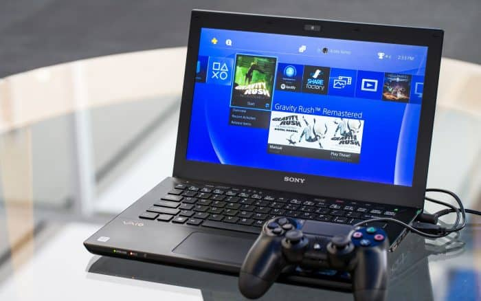 how to play ps4 on laptop