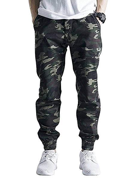Wearing Jogger Pants