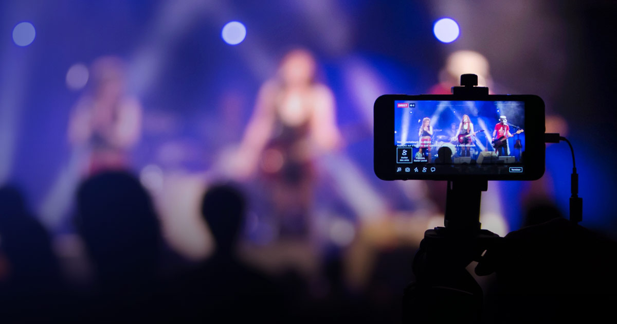 How to prefer and use the live event video streaming service on time?